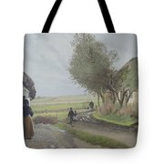 Dad Comes Home Tote Bag