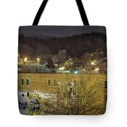 Dale Earnhardt Mural And Christmas Star Tote Bag