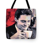 Damn Fine Cup Of Coffee Tote Bag