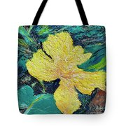 Dancing Flower Tote Bag