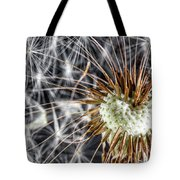 Dandelion Seed Pod Tote Bag