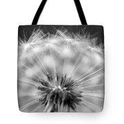 Dandelion Seeds Pod Macro Tote Bag