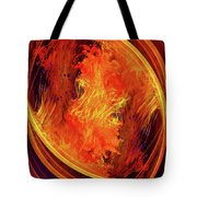 Dantes Inferno Tote Bag by Skip Hunt