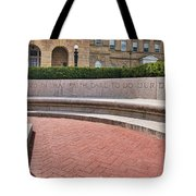 dare to do our duty - Madison -Wisconsin Tote Bag