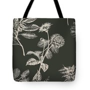 Dark Botanics  Tote Bag