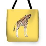 Daydreaming Of Giraffes Png Tote Bag