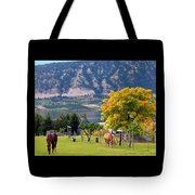 Days Of Autumn 25 Tote Bag