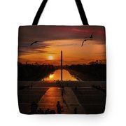 Dc Sunrise Tote Bag
