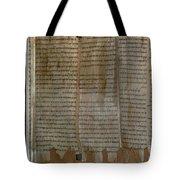 Dead Sea Scroll Tote Bag