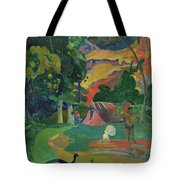 Death, Landscape With Peacocks, 1892 Tote Bag