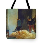 Death Of Imelda Lambertatstsi Tote Bag