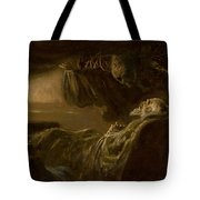 Death Of The Old Man Tote Bag