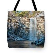 December Morning At Awosting Falls II 2018 Tote Bag