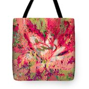 Decomposed Pink Lily  Tote Bag