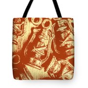 Decoratively Historic Tote Bag