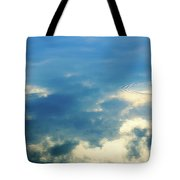 Deep Blue Sky Tote Bag