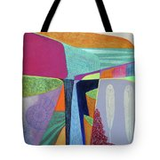 Deep Time 5. Fallen Angel Feathers Tote Bag