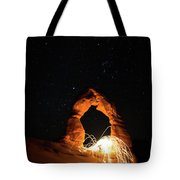 Delicate Arch Steel Wool Tote Bag