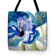 Delicate Blue Square I    Tote Bag