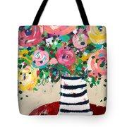 Delightful Bouquet 5- Art By Linda Woods Tote Bag