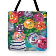 Delightful Bouquet 6- Art By Linda Woods Tote Bag