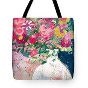 Delightful Bouquet- Art By Linda Woods Tote Bag