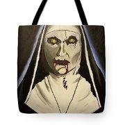 Demon Nun Tote Bag