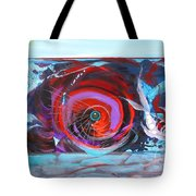 Depression And Me Two Fishes Tote Bag