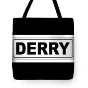 Derry City Nameplate Tote Bag