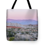 Desert On Fire No.1 Tote Bag