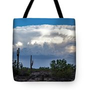 Portait Of A Thunderstorm Tote Bag