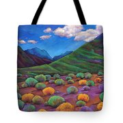 Desert Valley Tote Bag