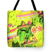 Desertly Decorated Tote Bag