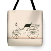 Design For Driving Or Road Phaeton Unnumbered Brewster And Co. American, New York Tote Bag