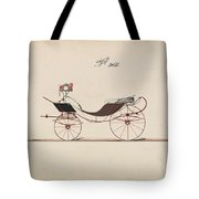 Design For Eight Spring Victoria, No. 966  1850-74 Tote Bag