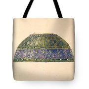 Design For Floral Lamp  Louis Comfort Tiffany American, New York 1848-1933 New York Tote Bag