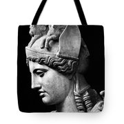 Detail Of The Face Of Athena Farnese Tote Bag