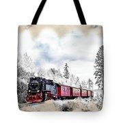 Diesel Powered Passenger Train Tote Bag