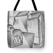 Digital Remastered Edition - Houses In Paris, Place Ravignan - Original White Tote Bag