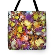 Dismantling The Flowers Tote Bag
