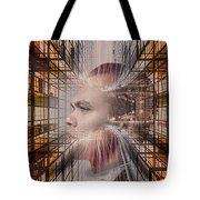 Distracted By Thoughts Tote Bag