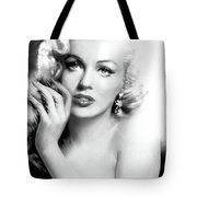 Diva Mm Bw Tote Bag