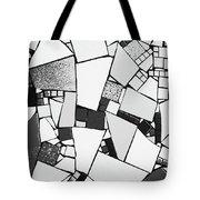 Divided Shapes Tote Bag