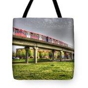 Docklands Light Railway Train  Tote Bag