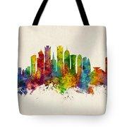 Doha Qatar Skyline Tote Bag