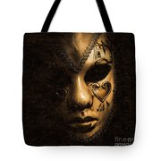 Dont Be Evil Said The Masked Villain Tote Bag