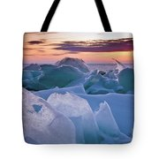 Door County, Wisconsin Sunset Tote Bag by Sam Antonio Photography