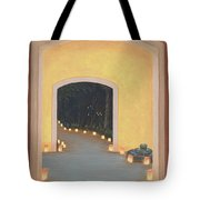 Doorway To The Festival Of Lights Tote Bag