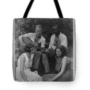 Doris Ulmann   1882-1934  Four Musicians Including A Man Playing A Guitar, A Man Playing A Violin Tote Bag
