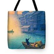 Dotonbori Morning - Top Quality Image Edition Tote Bag